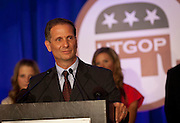 Republican 2nd Congressional District candidate Chris Stewart speaks at the Utah Republican Party results party, Tuesday, Nov. 6, 2012.