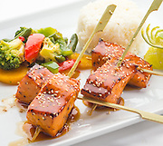 salmon terryaki,sushi,japanese foods,chinese food,