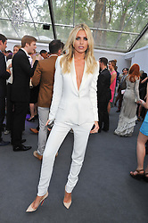 ABBEY CLANCEY at the Glamour Women of the Year Awards 2012 in association with Pandora held in Berkeley Square Gardens, London W1 on 29th May 2012.