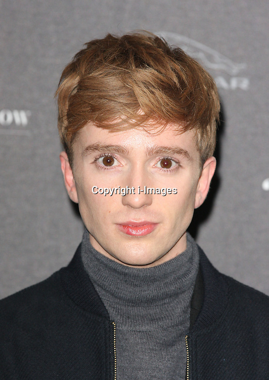 Luke Newberry arriving at the opening of the  Isabella Blow at the Isabella Blow exhibition at Somerset House in London, Tuesday, 19th November 2013   Photo by: i-Images