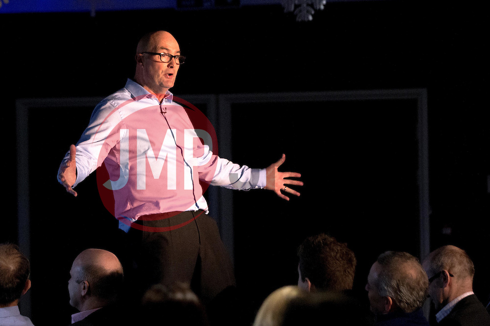 Adrian Webster is the guest speaker as Bristol Sport hosts their monthly networking breakfast event at Ashton Gate Stadium - Mandatory by-line: Robbie Stephenson/JMP - 16/12/2016 - SPORT - Ashton Gate Stadium - Bristol, England - Big Sports Breakfast December