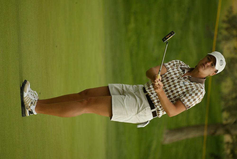 Sophie Gustafson..LPGA Welch's Fry's Round 2..Dell Urich GC at Randolph Park..Tucson, AZ..March 13, 2003..Photograph by Darren Carroll ..X67922