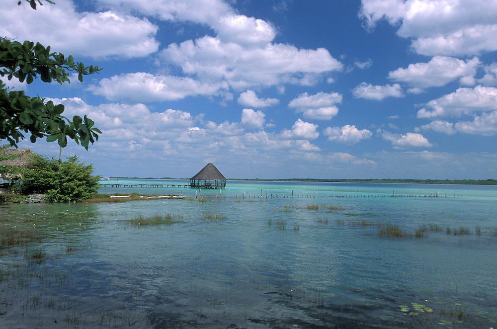 Lagoon Bacalar ,Bacalar, Quintana Roo, Mexico