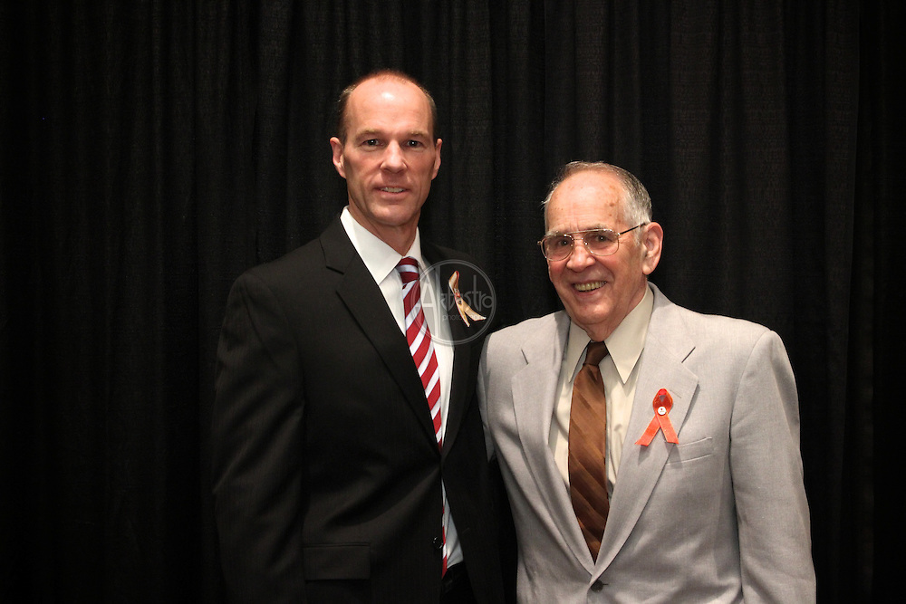16th Annual American Red Cross Heroes Breakfast of King County - Heroes and Survivors. Hero Todd Short and Survivor Don Trombly.