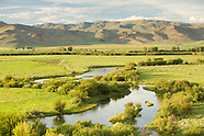 Fly fishing Silver Creek, Idaho Photos - Stock images