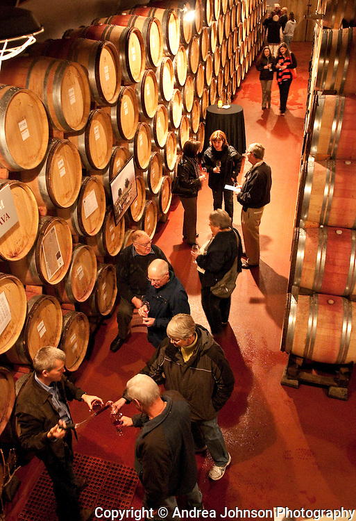Pre-Thanksgiving wine tasting at Ken Wright Cellars, Yamhill-Carlton AVA, Willamette Valley, Oregon