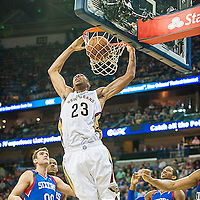 Philadelphia VS Pelicans 11152013