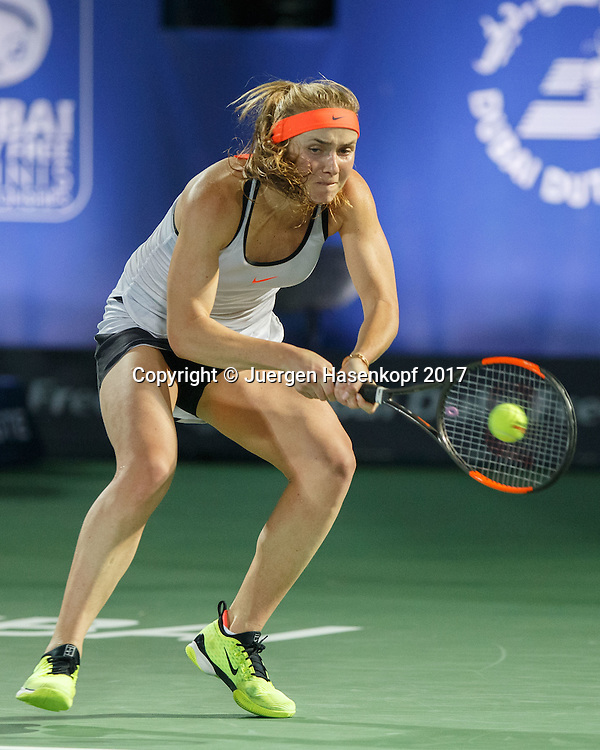 ELINA SVITOLINA (UKR)<br /> <br /> Tennis - Dubai Tennis Championships 2017 -  WTA -  Dubai Duty Free Tennis Stadium - Dubai  -  - United Arab Emirates  - 26 February 2017.