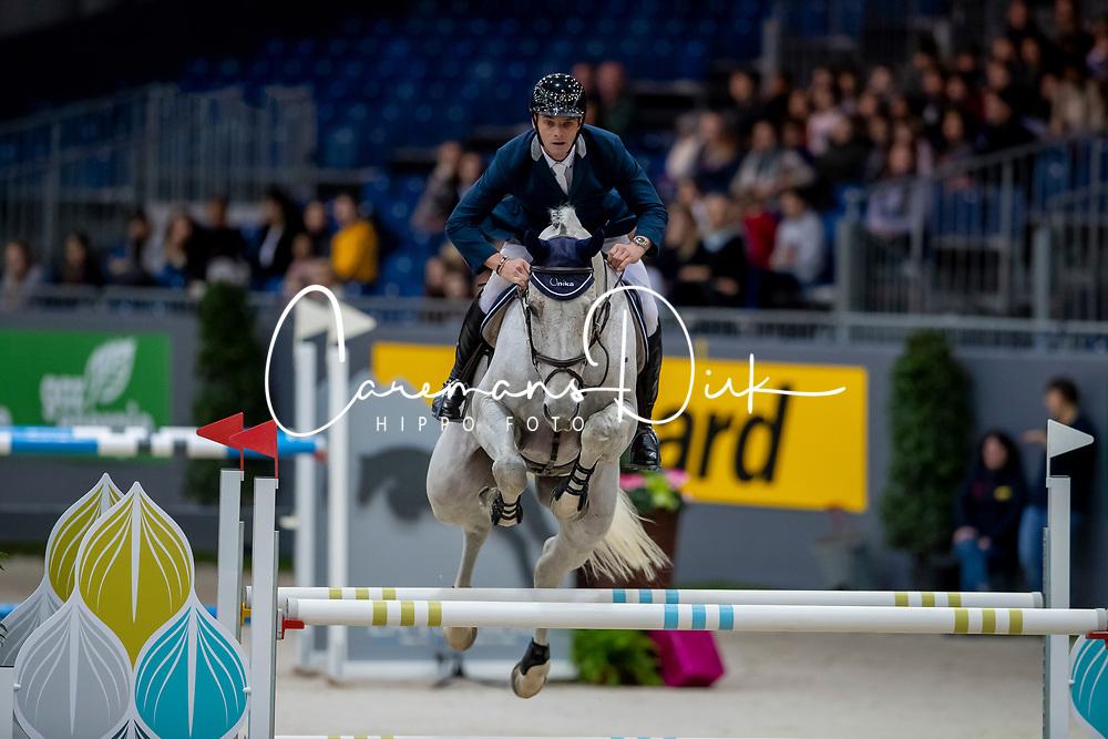 Muff Werner, SUI, Jazoe van't Steenpaal<br /> CHI Genève 2019<br /> © Hippo Foto - Dirk Caremans<br />  12/12/2019