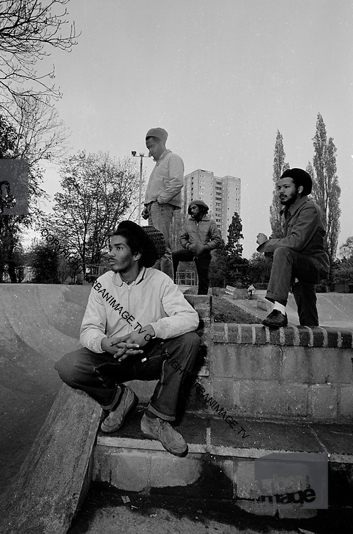 Bad Brains US Reggae Punk Band - South London 1984 photosession