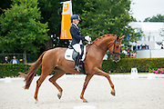 Katrien Verreet - Fortalezza Biolley<br /> Longines FEI/WBFSH World Breeding Dressage Championships for Young Horses 2016<br /> © DigiShots