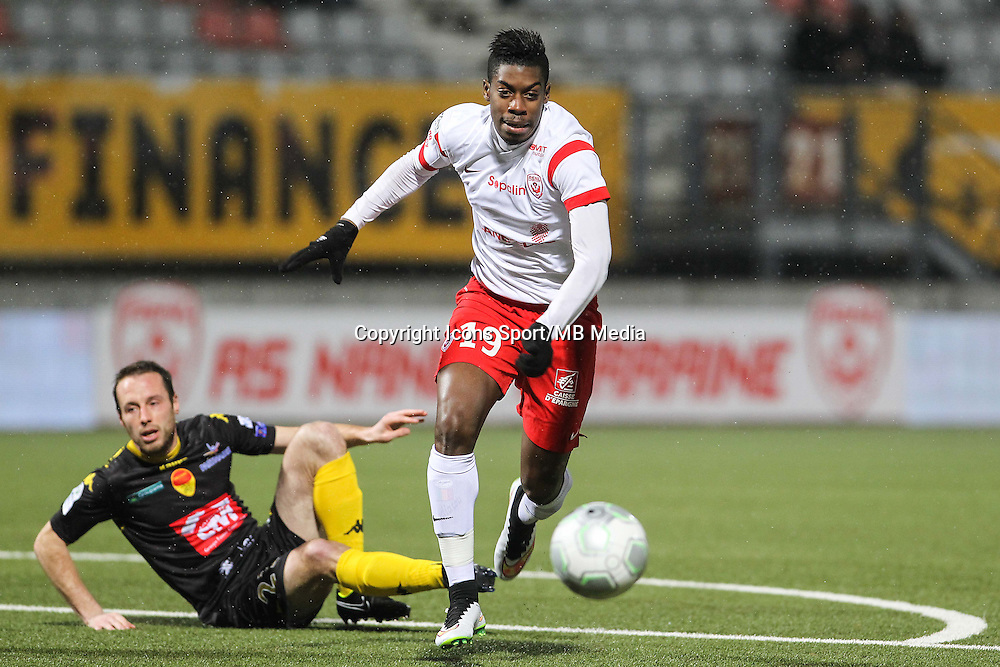 Mana DEMBELE - 19.01.2015 - Nancy / Orleans - 20e journee Ligue 2<br /> Photo : Fred Marvaux / Icon Sport