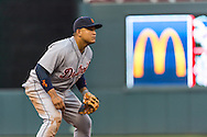Miguel Cabrera #24 of the Detroit Tigers waits for a pitch during a game against the Minnesota Twins on June 15, 2013 at Target Field in Minneapolis, Minnesota.  The Twins defeated the Tigers 6 to 3.  Photo: Ben Krause