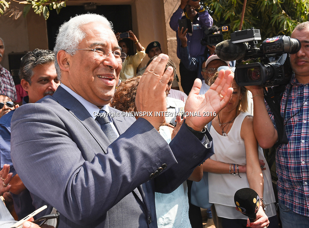 13.01.2017; Margao,Goa,India: ANTONIO COSTA VISITS ANCESTRAL HOME<br />Portuguese Prime Minister Antonio Costa paid a visit to his ancestral home in Rua Abade Faria, Margao, Goa.<br />Costa, who is of Goan origin lunched with his paternal aunt 78-year-old Sinikka Jussilainen Costa, his first cousin and her family during his second visit in three decades to his ancestral house where his father and noted writer and poet Orlando da Costa grew up in the 1930s and 40s.<br />Mandatory Photo Credit: &copy;Dias/NEWSPIX INTERNATIONAL<br /><br />IMMEDIATE CONFIRMATION OF USAGE REQUIRED:<br />Newspix International, 31 Chinnery Hill, Bishop's Stortford, ENGLAND CM23 3PS<br />Tel:+441279 324672  ; Fax: +441279656877<br />Mobile:  07775681153<br />e-mail: info@newspixinternational.co.uk<br />Usage Implies Acceptance of OUr Terms &amp; Conditions<br />Please refer to usage terms. All Fees Payable To Newspix International