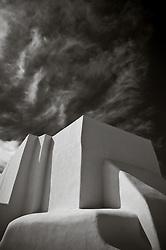 Adobe Church in Taos, NM