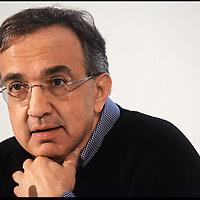 nella fotografia: Sergio Marchionne Amministratore delegato di Fiat e di Chrysler.. Torino, 30 marzo 2011, assemblea degli azionisti della Fiat al Lingotto.