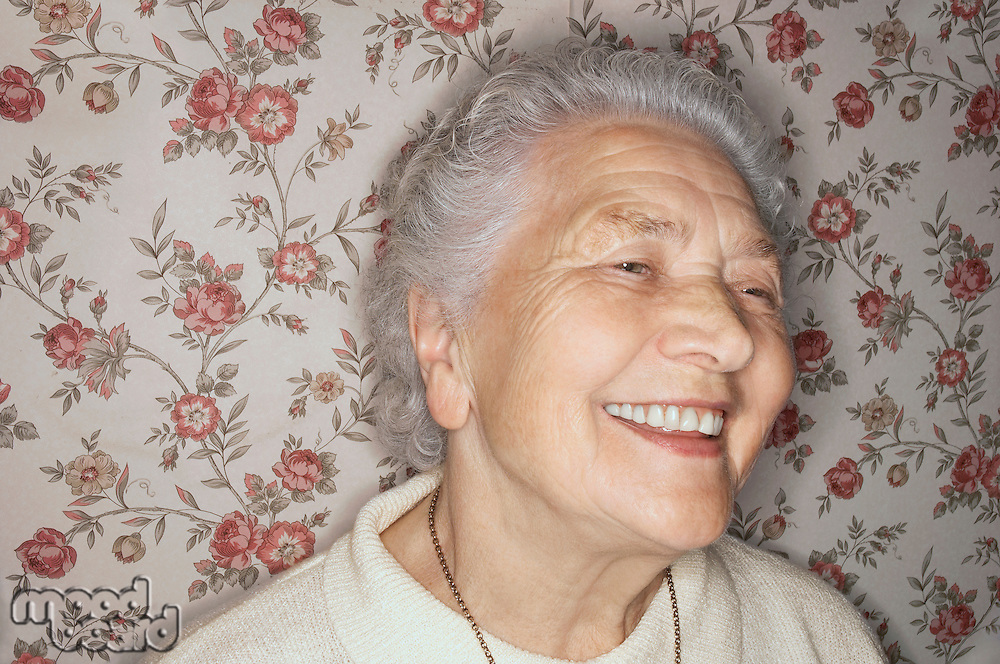 Smiling Older Woman