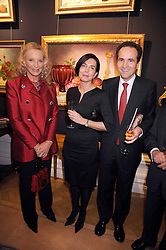 Left to right, HRH PRINCESS MICHAEL OF KENT and the Spanish Ambassador and his wife MR & MRS CARLES CASAJUANA at an exhibition of Countess Flamburiari's paintings entitled 'Come to the Circus' held at Partridges Fine Art, Bond Street, London on 2nd December 2008.