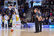 Arbitro, Referee,<br /> Banco di Sardegna Dinamo Sassari - Openjobmetis Varese<br /> Legabasket Serie A LBA PosteMobile 2017/2018<br /> Sassari, 25/03/2018<br /> Foto L.Canu / Ciamillo-Castoria