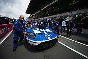 June 14-19, 2016: 24 hours of Le Mans. 67 FORD CHIP GANASSI, FORD GT, Marino FRANCHITTI, Andy PRIAULX, Harry TINCKNELL, LM GTE Pro