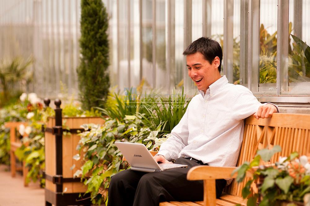 Gardens as office