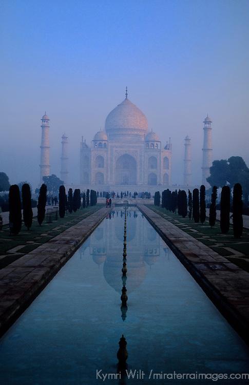 Asia, India, Agra. Taj Mahal.