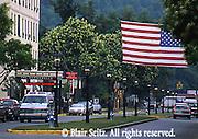 Town with gas lantern, Wellsboro, Tioga Co., PA