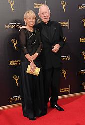 Catherine Van Sydow, Max Van Sydow bei den Creative Arts Emmy Awards in Los Angeles / 100916<br /> <br /> <br /> *** at the Creative Arts Emmy Awards in Los Angeles on September 10, 2016 ***