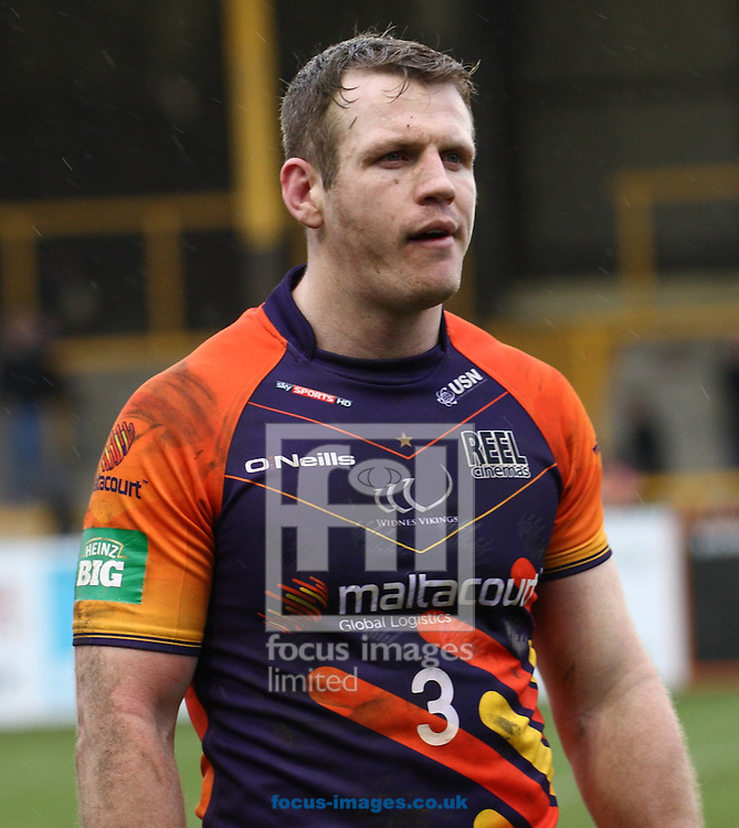 Picture by Stephen Gaunt/Focus Images Ltd +447904 833202.13/04/2013.Cameron Phelps of Widnes Vikings during the Super League match at the PROBIZ Colliseum, Castleford.