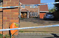 © under license to London News pictures.  10/10/2010. Detectives have launched a murder investigation and arrested a 16-year-old and another man after a woman died following an assault at a house.Police were called to an address in Wendover Road, Aylesbury, Bucks, on Saturday evening and arrested the teenager and a 21-year-old man at the scene on suspicion of murder.The suspects are currently in custody at Aylesbury police station.The victim, a 40-year-old woman who lives at the address where the incident took place, was taken to Stoke Mandeville Hospital with serious injuries but died shortly after 8pm.