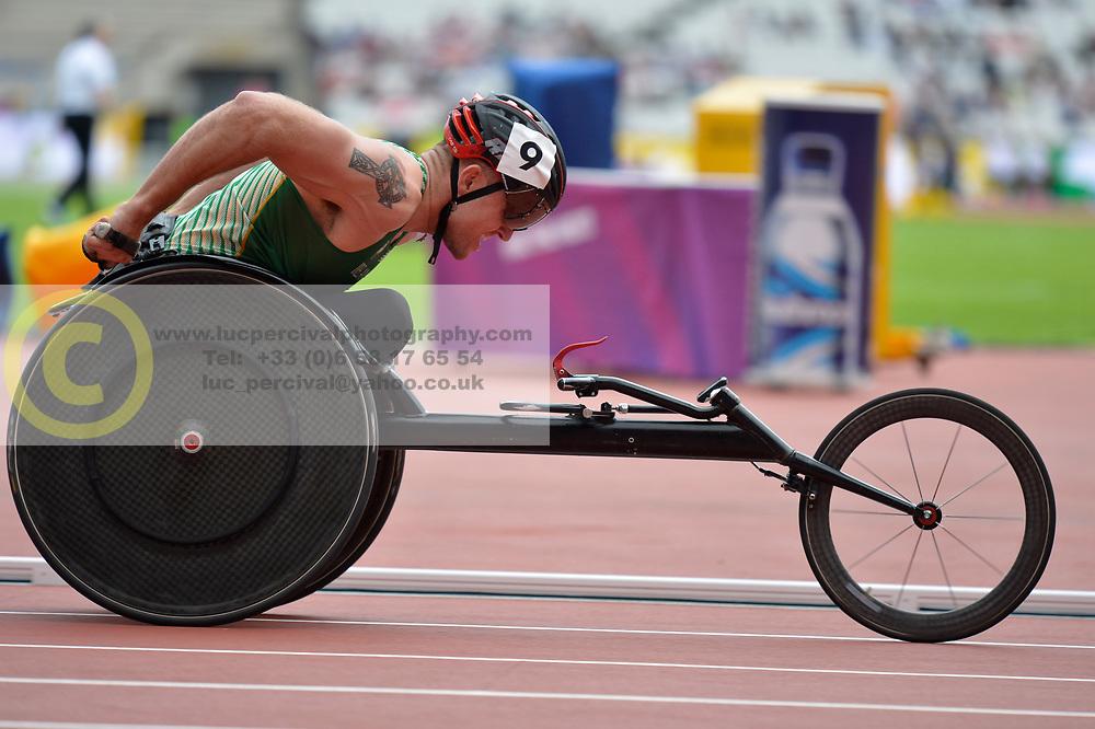 16/07/2017 : Patrick MONAHAN, T53, 1500m (men's), at the 2017 World Para Athletics Championships, Olympic Stadium, London, United Kingdom