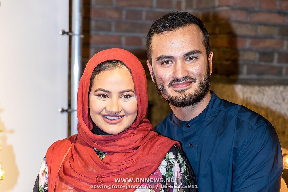 NLD/Amsterdam/20170829 - Grazia Fashion Awards 2017, Ruba Zai en partner