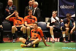 20160424 NED: Play off finale Abiant Lycurgus - Seesing Personeel Orion, Groningen<br />Teleurstelling bij Seesing Personeel Orion