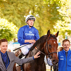 Mythical Magic (JW. Doyle) wins Prix Francois Boutin Listed in Deauville, France, 13/08/2017, photo: Zuzanna Lupa