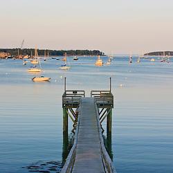 Southwest Harbor on Maine's Mount Desert Island.