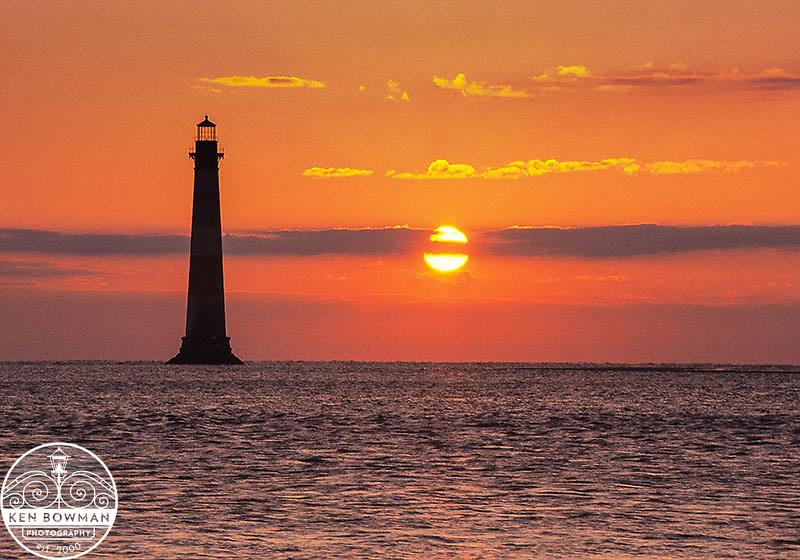 Morris Island Lighthouse sunrise