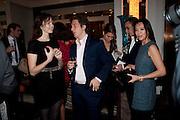 LILY COLE; HENRY ALEX RUBIN;, Ella Krasner and Pablo Ganguli host a Liberatum dinner in honour of Sir V.S.Naipaul. The Landau at the Langham. London. 23 November 2010. -DO NOT ARCHIVE-© Copyright Photograph by Dafydd Jones. 248 Clapham Rd. London SW9 0PZ. Tel 0207 820 0771. www.dafjones.com.