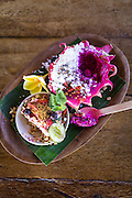Be Buah Naga made of Dragon Fruit at Betelnut Cafe.