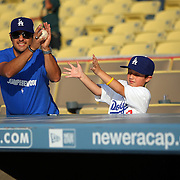 2009 Athletics at Dodgers