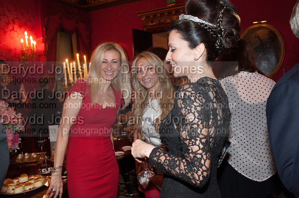 JENNY HALPERN; BIANCA LADDOW, Tatler magazine Jubilee party with Thomas Pink. The Ritz, Piccadilly. London. 2 May 2012
