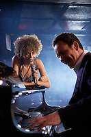Jazz Singer and Pianist Performing
