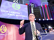 UKIP Leadership Announcement <br /> at the Emmanuel Centre, Westminster, London, Great Britain <br /> 28th November 2016 <br /> <br /> <br /> <br /> Paul Nuttall <br /> new UKIP Leader <br /> <br /> Photograph by Elliott Franks <br /> Image licensed to Elliott Franks Photography Services