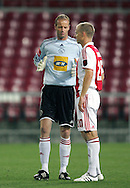 Hans onk and Deniss Ivanovs during the PSL match between Ajax Cape Town and Moroka Swallows held at Newlands Stadium in Cape Town, South Africa on 28 October 2009..Photo by Ron Gaunt/SPORTZPICS