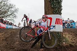 Amira Mellor (GBR), Women, Cyclo-cross World Cup Hoogerheide, The Netherlands, 25 January 2015, Photo by Pim Nijland / PelotonPhotos.com