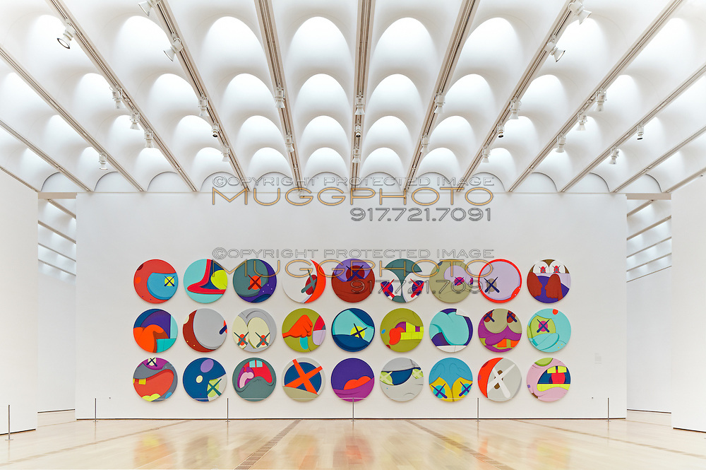 The KAWS show within a Renzo Piano designed gallery at the High Museum of Art in Atlanta ©2012 John Muggenborg / muggphoto