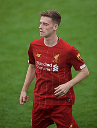 KIRKBY, ENGLAND - Saturday, August 10, 2019: Liverpool's substitute Tony Gallacher during the Under-23 FA Premier League 2 Division 1 match between Liverpool FC and Tottenham Hotspur FC at the Academy. (Pic by David Rawcliffe/Propaganda)