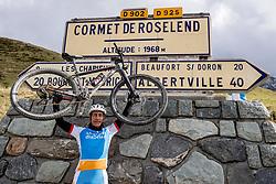 16-09-2017 FRA: BvdGF Tour du Mont Blanc day 7, Beaufort<br /> De laatste etappe waar we starten eindigen we ook weer naar een prachtige route langs de Mt. Blanc / Elias Delgado