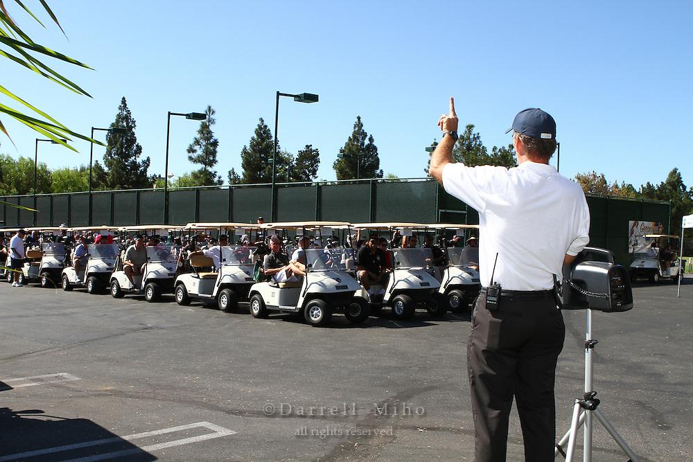 Oct. 03, 2011; Northridge, CA, USA - Phillip Palmer Invitational Golf Tournament to Benefit the Children's Hospital of Los Angeles.