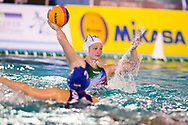 4 Elisa QUEIROLO ITA <br /> ITA v HUN Italy (white cap) versus Hungary (blue cap)<br /> FINA Women Water Polo World League qualification round<br /> Avezzano (AQ) Italy ITA Piscina Comunale Avezzano <br /> Centro Italia Nuoto  Unipol<br /> April 18th, 2017 <br /> Photo &copy;D.Montano/Deepbluemedia/Insidefoto