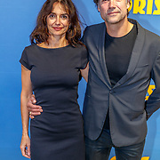 NLD/Amsterdam/20180917 - Premiere Doris, Daniel Boissevain met partner Vanessa Henneman